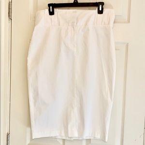 White New York & Co Skirt Size 12